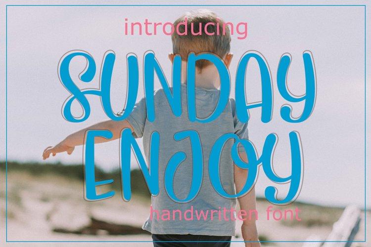 sunday enjoy example image 1