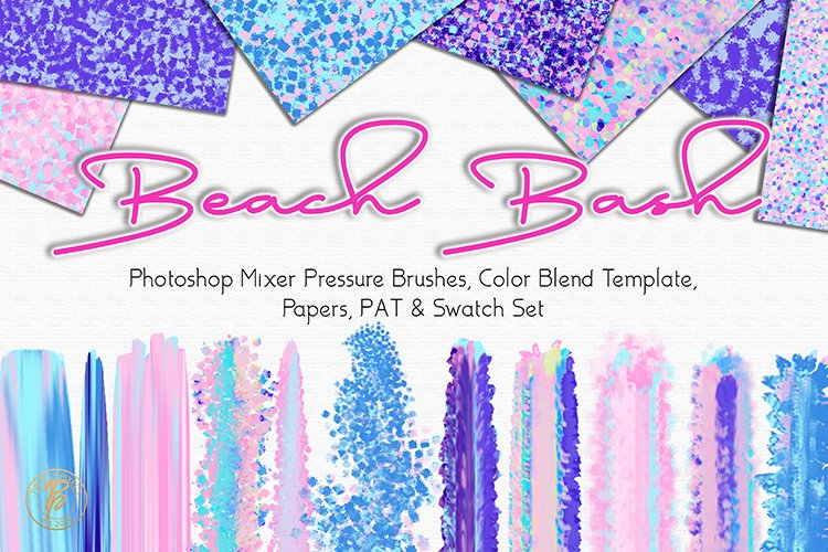 Beach Bash Photoshop Designer Set