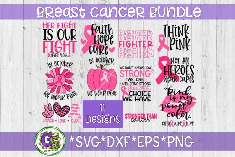 Breast Cancer Awareness Bundle Svg Dxf Eps Png Cancer 789504 Cut Files Design Bundles