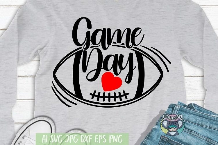 Football Mom svg, Game Day svg, Cricut Cut Files, dxf, png example image 1