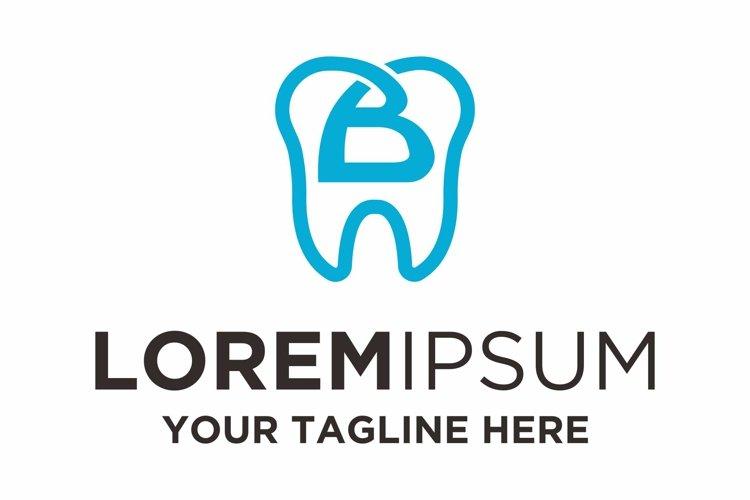 Dentist health letter B logo design example image 1