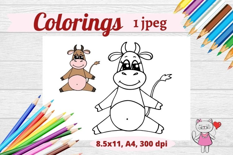 Christmas Coloring Pages- 1jpeg items example image 1