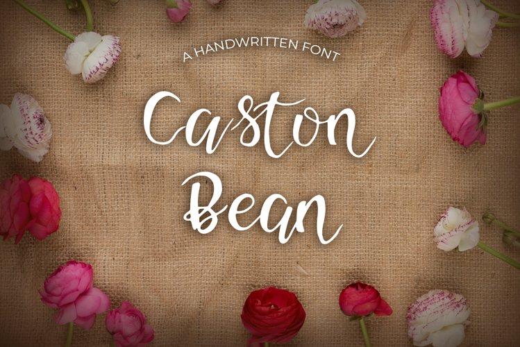 Caston Bean Font example image 1