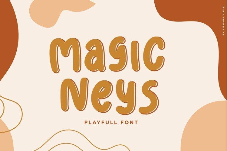 Magic Neys - Playfull Font example image 1