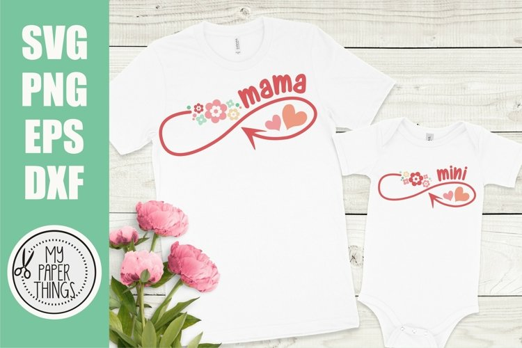 Mommy and me svg Bundle | Mama and mini svg Bundle - Free Design of The Week Design13
