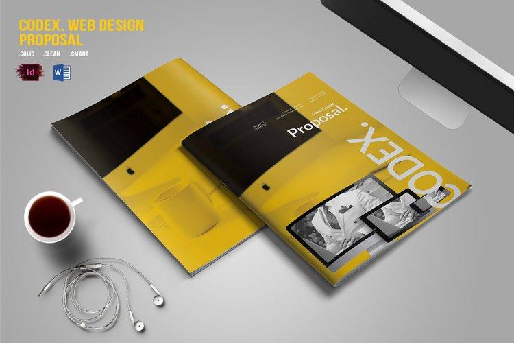 CODEX. Web Design Proposal