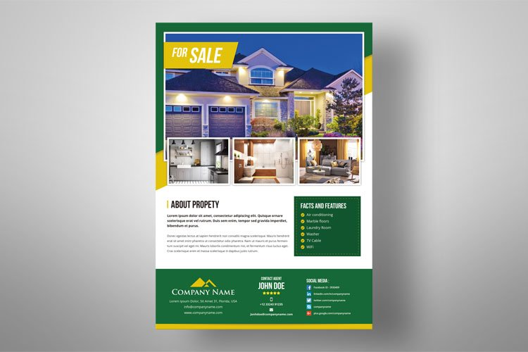 Real Estate Flyer example image 1