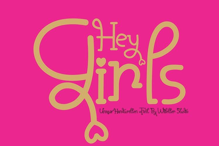Hey Girls example image 1