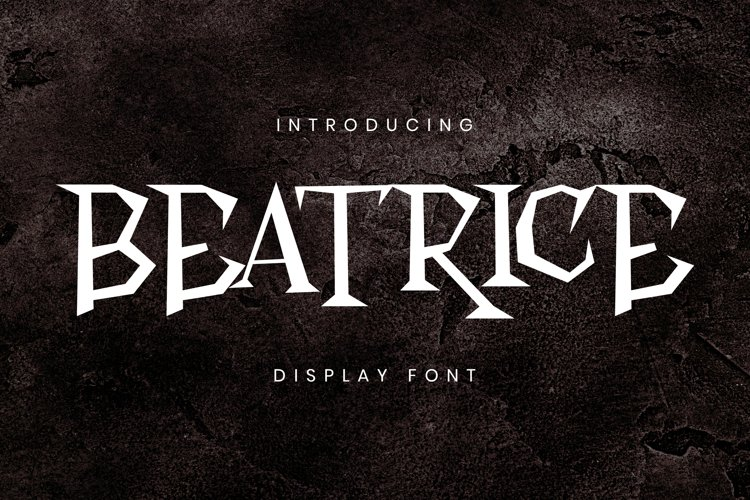 Beatrice Font example image 1