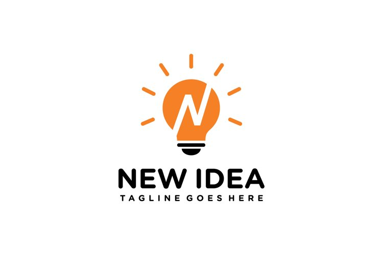 light bulb logo example image 1