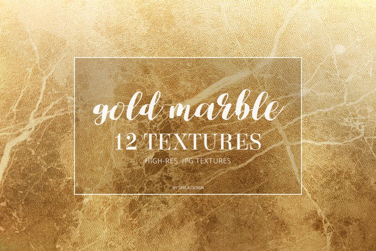 Gold marble texture background example image 1