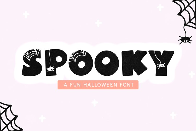 Spooky - A Fun Halloween Font example image 1