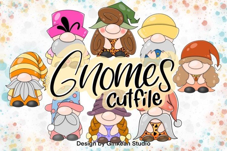 Gnome clipart set, gnome png, sublimaion, gnome sticker
