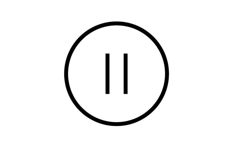 stop button symbol example image 1