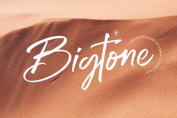 Bigtone Script example image 1