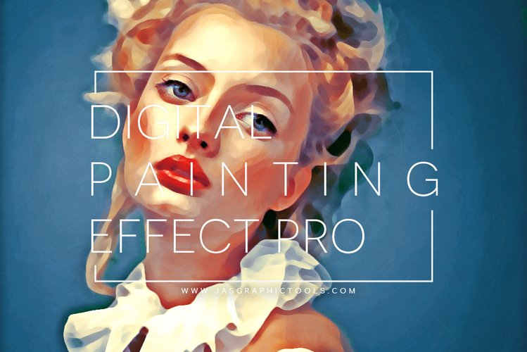 Digital Painting Effect Pro | Photoshop Actions example image 1