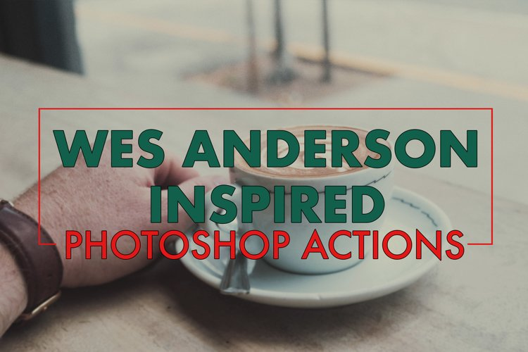Wes Anderson Inspired Photoshop Action Set