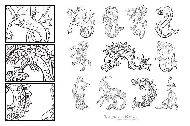 Heraldic Monsters Vol. VI example image 1