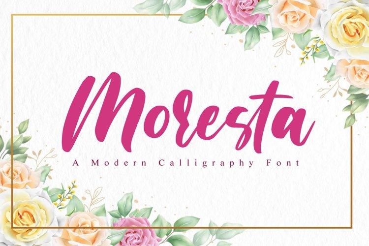 Moresta Script example image 1