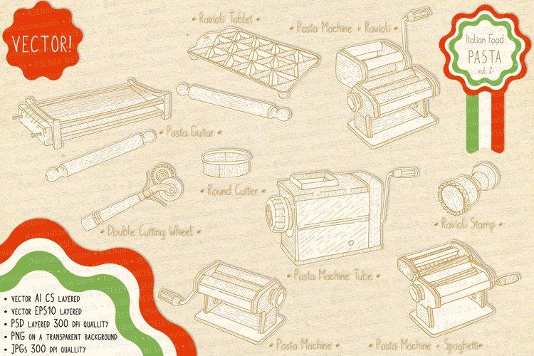 Italian Food. Pasta Makers. example image 1