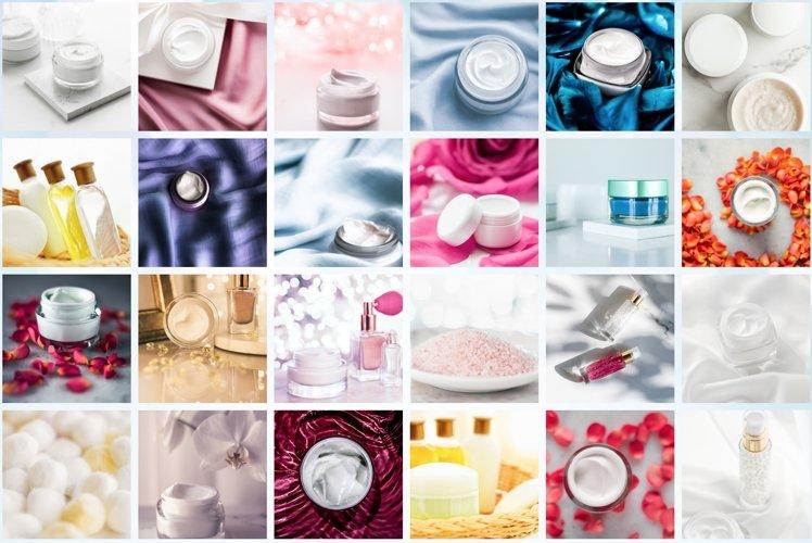 50 Images | Skincare Brand Stock Photo Bundle
