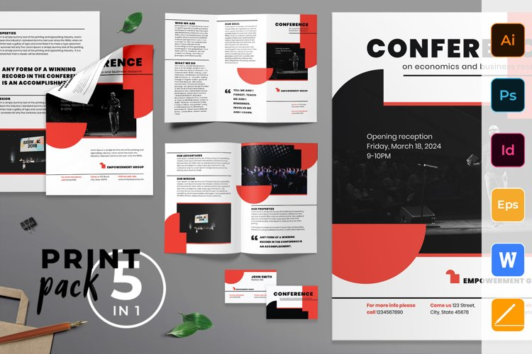 Conference Print Pack example image 1