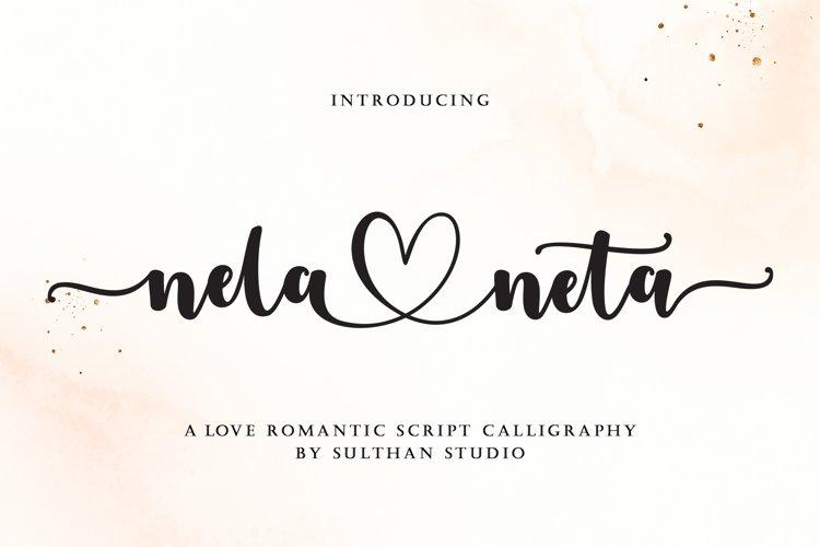 Nela neta script example image 1