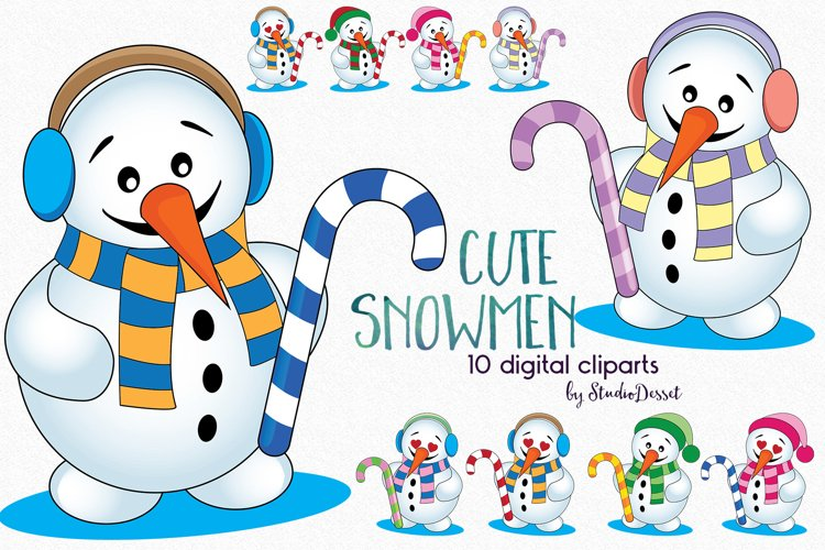 Cute Snowman example image 1
