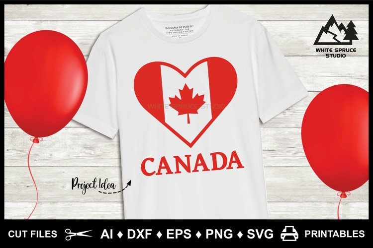 SVG Canada Day, Maple Leaf, Canada Day, Canadian, Red & Whit