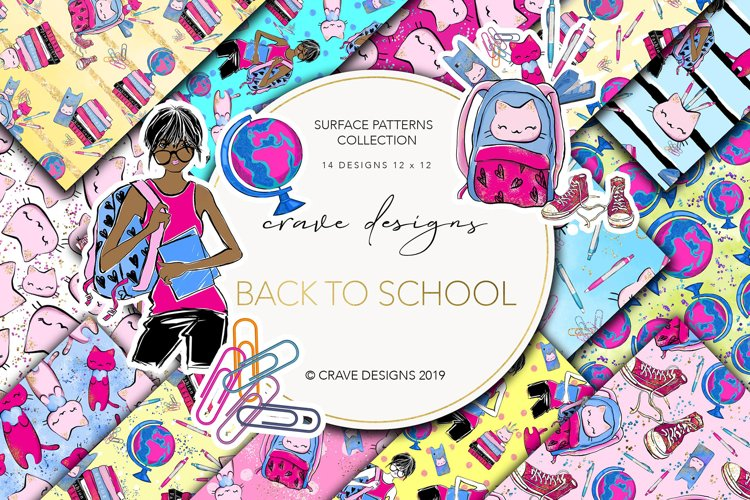 Back To School Patterns example image 1