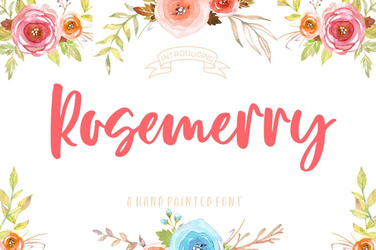 Rosemerry Script example image 1