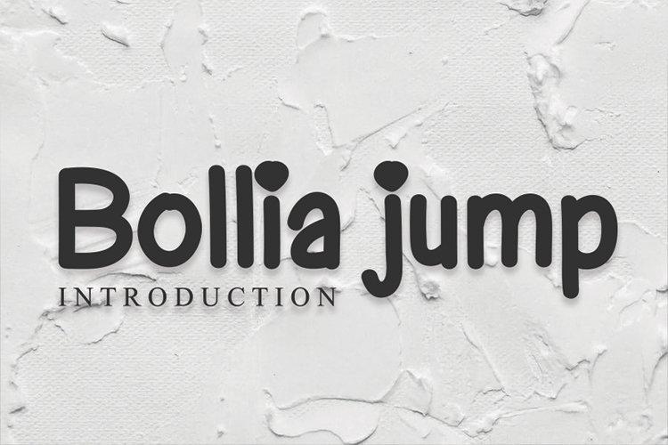 Bollia jump example image 1