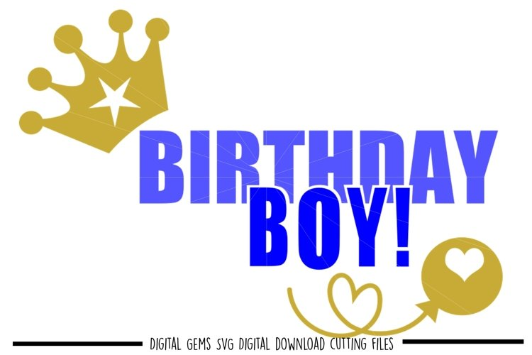 Birthday SVG / PNG / EPS / DXF files example image 1