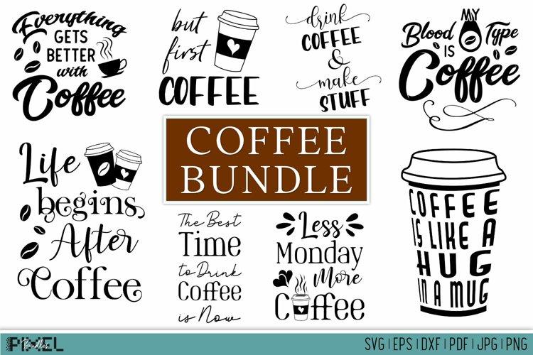 Coffee Bundle Coffee SVG Bundle Funny Coffee Bundle Kitchen example image 1
