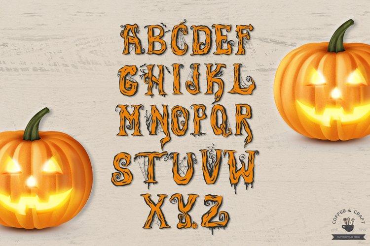 Halloween Alphabet - Free Design of The Week Design2