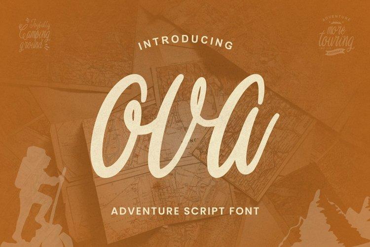 Web Font Ova Font example image 1