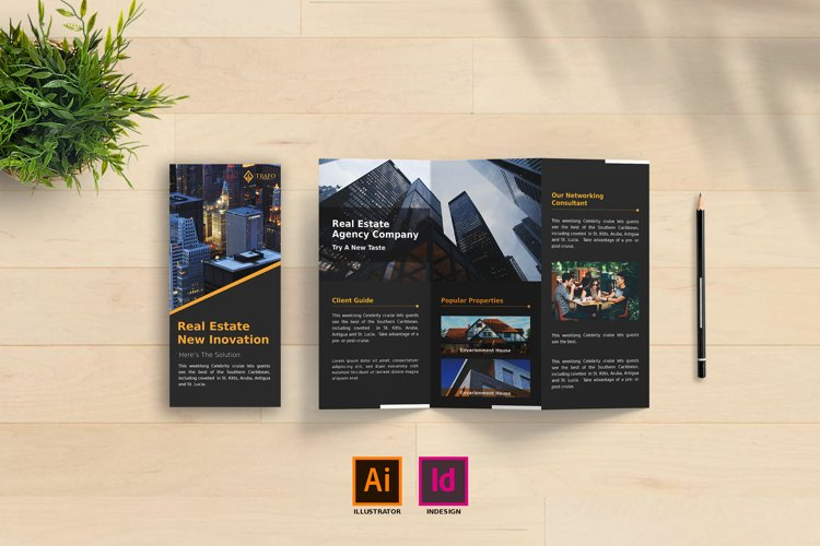 Corporate Trifold Brochure Vol. 1 example image 1
