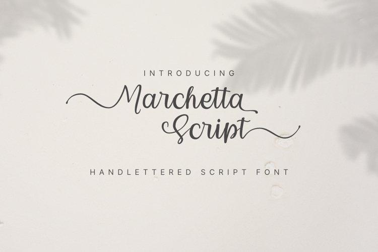 Marchetta Script example image 1