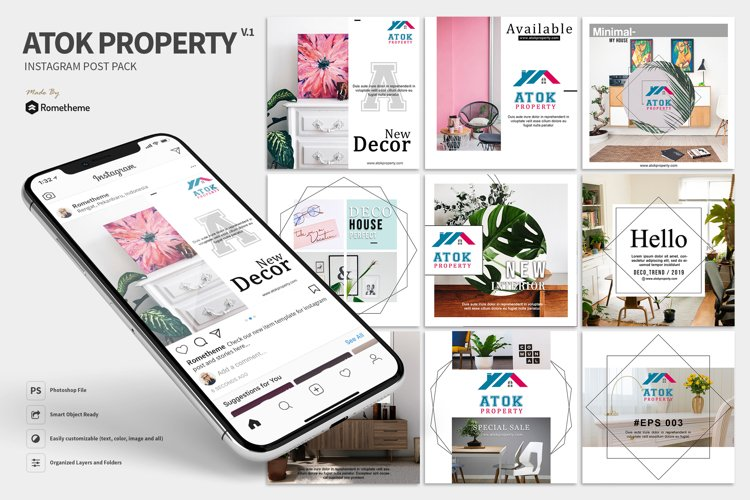 Atok - Property Instagram Post example image 1
