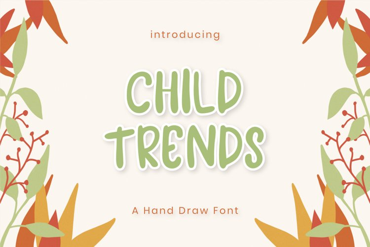 Child Trends Font example image 1