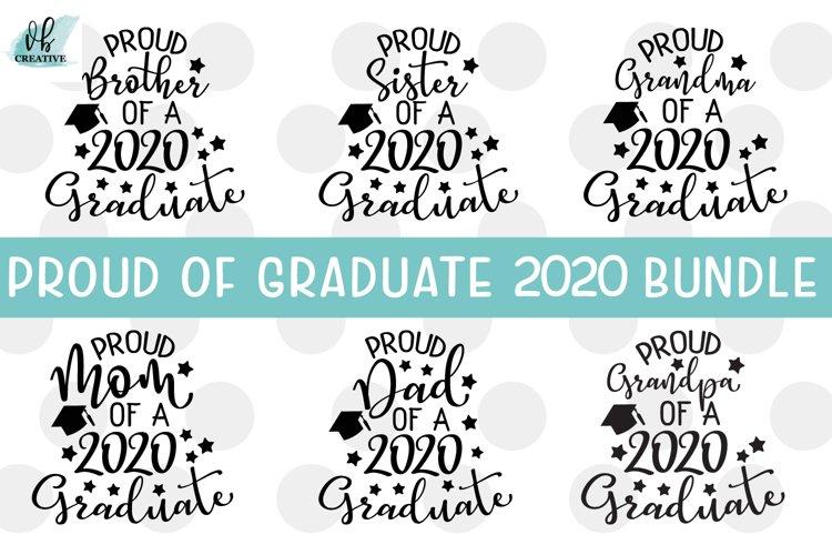Proud of Grad 2020 SVG Bundle - 6 Graduation SVGs example image 1