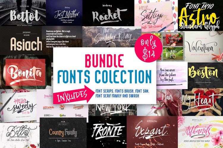 BUNDLE (Fonts Colection) example image 1