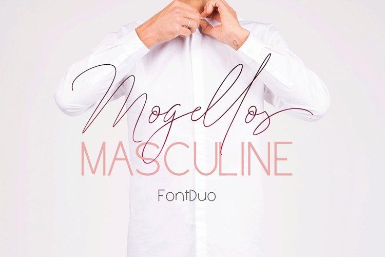 Mogellos FontDuo example image 1
