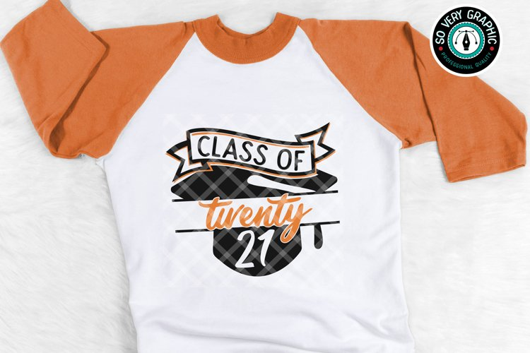Class of 2021 Graduation Cap SVG Design Cut File