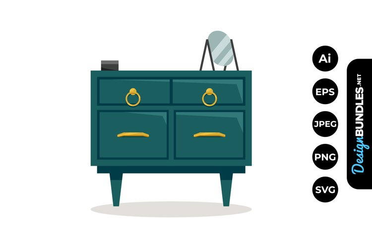 Dresser Clipart example image 1