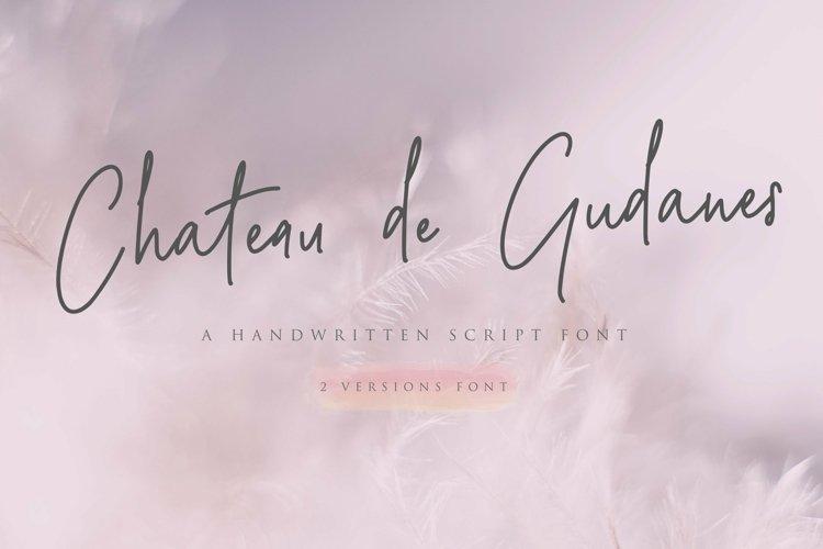 Web Font Chateau de Gudanes 2 Elegant Fonts example image 1