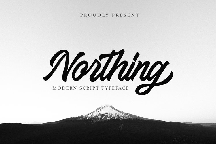 Northing - Modern Script example image 1