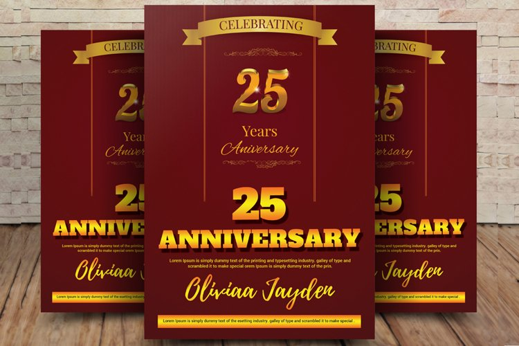 Golden Anniversary Flyer example image 1