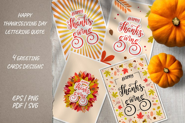 Fall design card for Thanksgiving day Ready to print