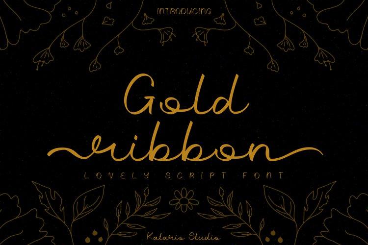 Gold Ribbon example image 1
